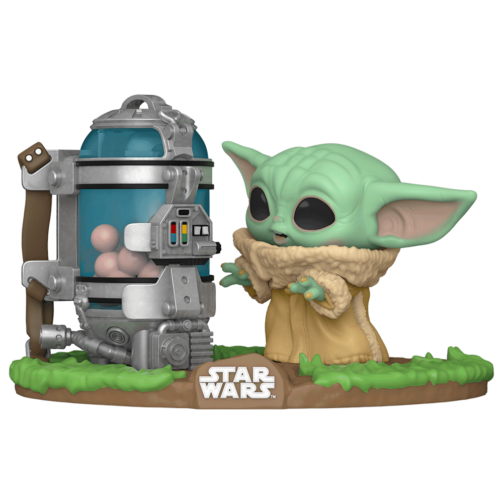 Foto de Funko Pop Star Wars The Mandalorian - The Child with Egg Canister 407 Deluxe
