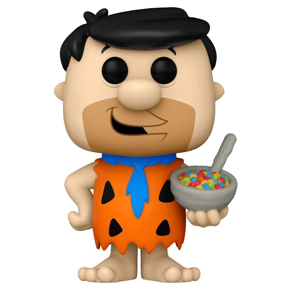 Foto de Funko Pop The Flintstones - Fred Flintstone w/ fruity pebbles cereal 119 (Pedro Picapiedra)